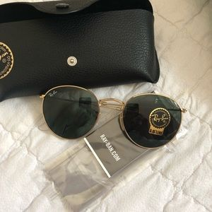 round metal ray bans